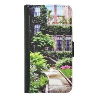 Boston MA - Hidden Garden Samsung Galaxy S5 Wallet Case