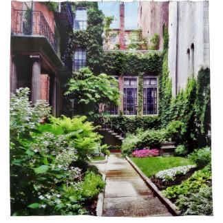 Boston MA - Hidden Garden Shower Curtain