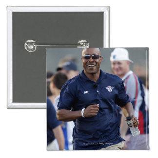 BOSTON, MA - JULY 9:  Coach Bill Daye 15 Cm Square Badge