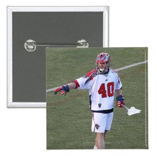 BOSTON, MA - JUNE 04:  John Lade #40 15 Cm Square Badge