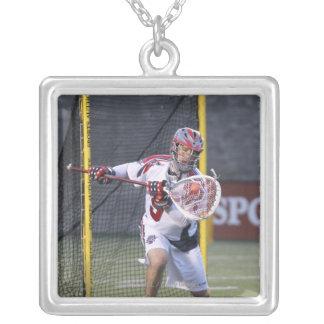 BOSTON, MA - JUNE 04:  Jordan Burke #5 Square Pendant Necklace
