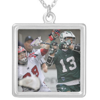 BOSTON, MA - JUNE 11:  J.J. Morrissey #29 Silver Plated Necklace