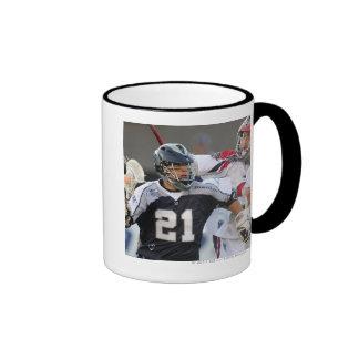 BOSTON, MA - JUNE 4:  Jeff Reynolds #21 Ringer Coffee Mug