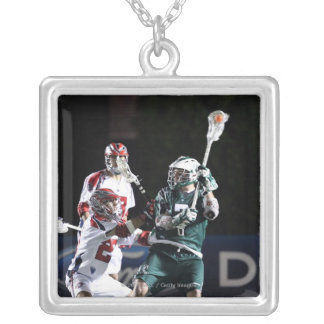 BOSTON, MA - MAY 14:  Keith Cromwell #7 Square Pendant Necklace