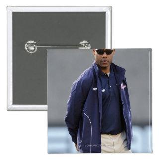 BOSTON, MA - MAY 21:  Coach Bill Daye 15 Cm Square Badge