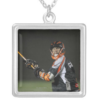 BOSTON, MA - MAY 21:  Steve Giannone #3 2 Silver Plated Necklace