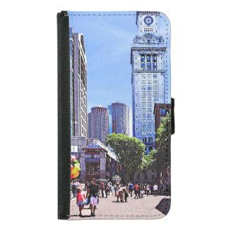 Boston MA - Quincy Market Samsung Galaxy S5 Wallet Case