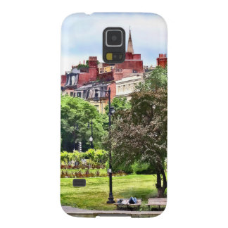 Boston MA - Relaxing In Boston Public Garden Cases For Galaxy S5