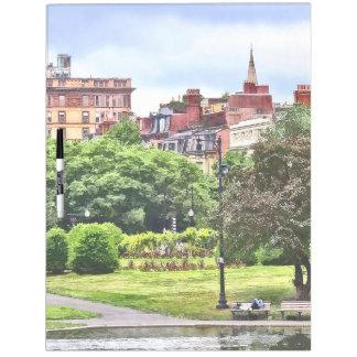 Boston MA - Relaxing In Boston Public Garden Dry Erase Board