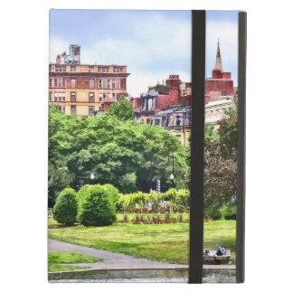 Boston MA - Relaxing In Boston Public Garden iPad Air Cover