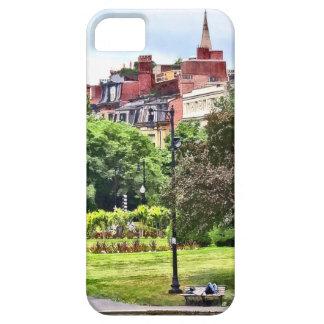 Boston MA - Relaxing In Boston Public Garden iPhone 5 Cover