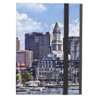 Boston MA - Skyline With Custom House Tower Case For iPad Air