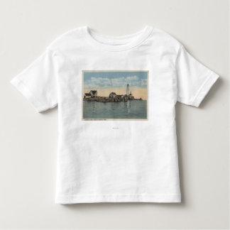 Boston, MABoston Lighthouse at Boston Harbor T Shirt