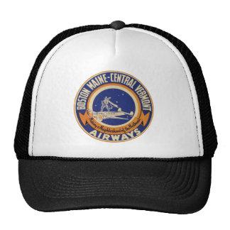 Boston Maine-Central Vermont Airways Logo Cap