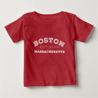 Boston Massachusetts Baby T-Shirt