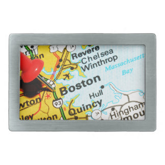 Boston, Massachusetts Belt Buckle