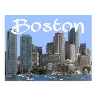 Boston, Massachusetts - Boston Harbor Post Card