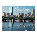 Boston, Massachusetts - Boston Harbour Post Card
