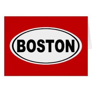 Boston Massachusetts Card