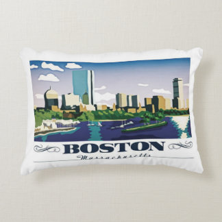 Boston, Massachusetts Decorative Cushion