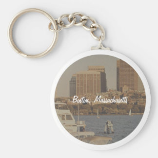 Boston, Massachusetts Key Ring