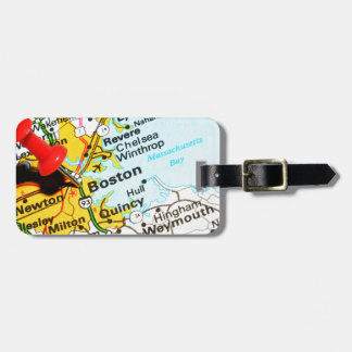 Boston, Massachusetts Luggage Tag