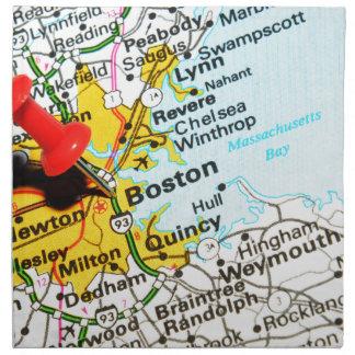 Boston, Massachusetts Napkin