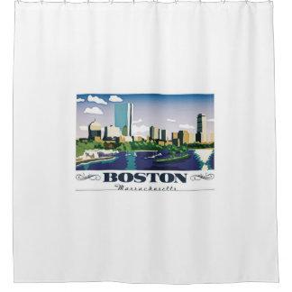Boston, Massachusetts Shower Curtain