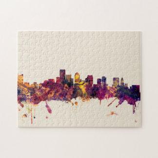 Boston Massachusetts Skyline Jigsaw Puzzle