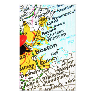 Boston, Massachusetts Stationery