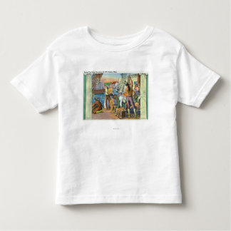 Boston, MassachusettsBoston Tea Party Scene Shirts