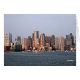 Boston morning--thank you card