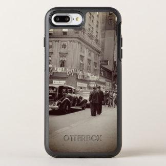 Boston Parker House Hotel 1930's Photograph Car OtterBox Symmetry iPhone 8 Plus/7 Plus Case
