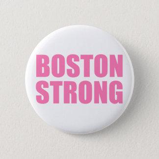 Boston Pink Strong 6 Cm Round Badge