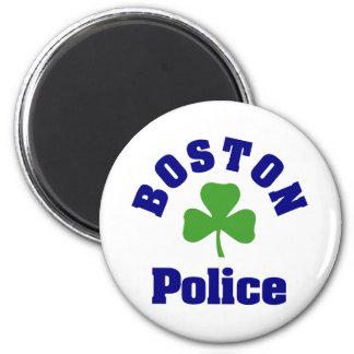 BOSTON Police 6 Cm Round Magnet