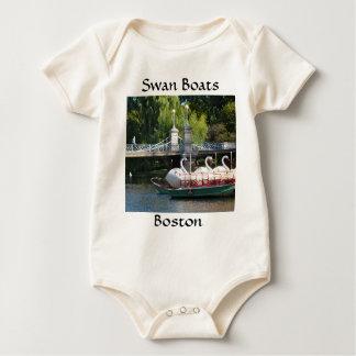 Boston Public Garden Baby Baby Creeper