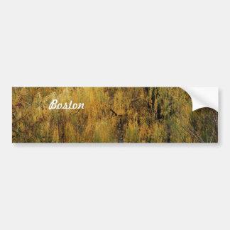 Boston Public Garden Bumper Stickers