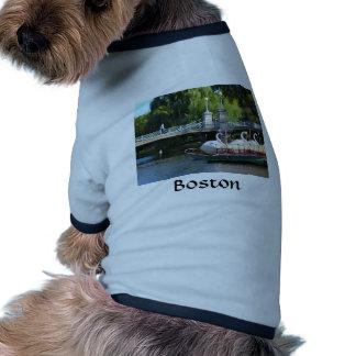 Boston Public Garden Dog Shirt