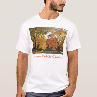 Boston Public Garden in Autumn T-Shirt
