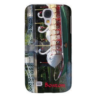 Boston Public Garden iPhone Case Samsung Galaxy S4 Cases