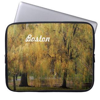 Boston Public Garden Laptop Sleeve