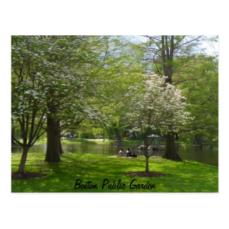 Boston Public Garden Postcards