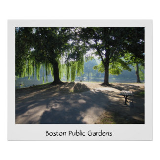 Boston Public Garden Print