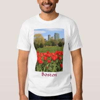 Boston Public Garden Tulips in Spring Tee Shirt