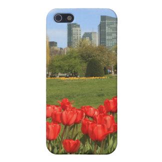 Boston Public Garden Tulips Cover For iPhone 5