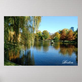 Boston Public Gardens Posters