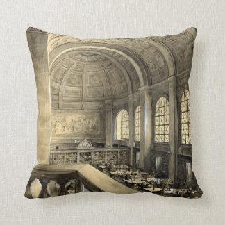 Boston Public Library Bates Hall 1896 Cushion