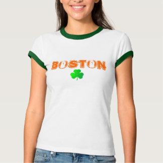 Boston SHAMROCK WOMENS Tshirts