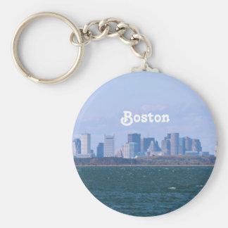Boston Skyline Key Ring