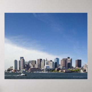 Boston Skyline, Massachusetts Poster